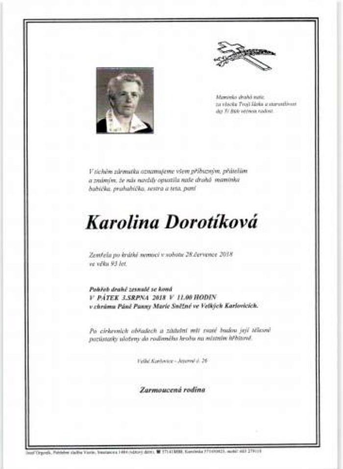 Karolina Dorotíková