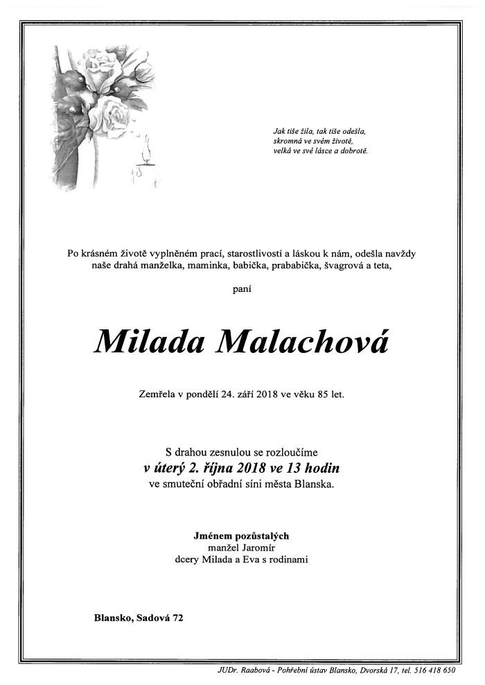 Milada Malachová