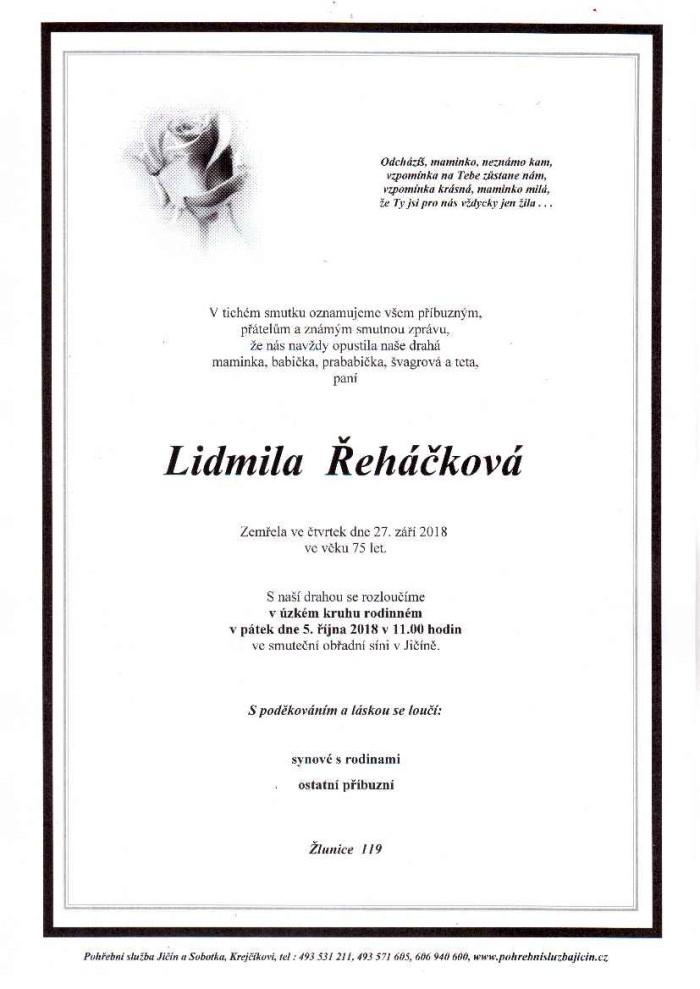 Lidmila Řeháčková