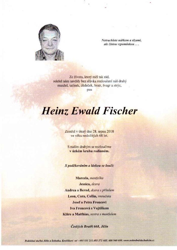 Heinz Ewald Fischer