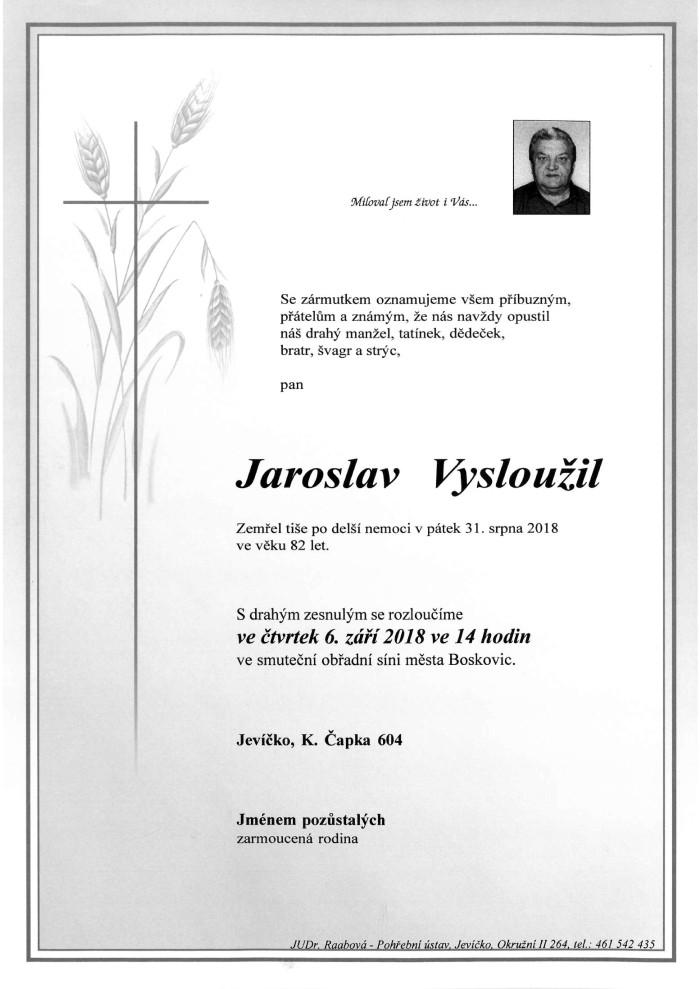 Jaroslav Vysloužil