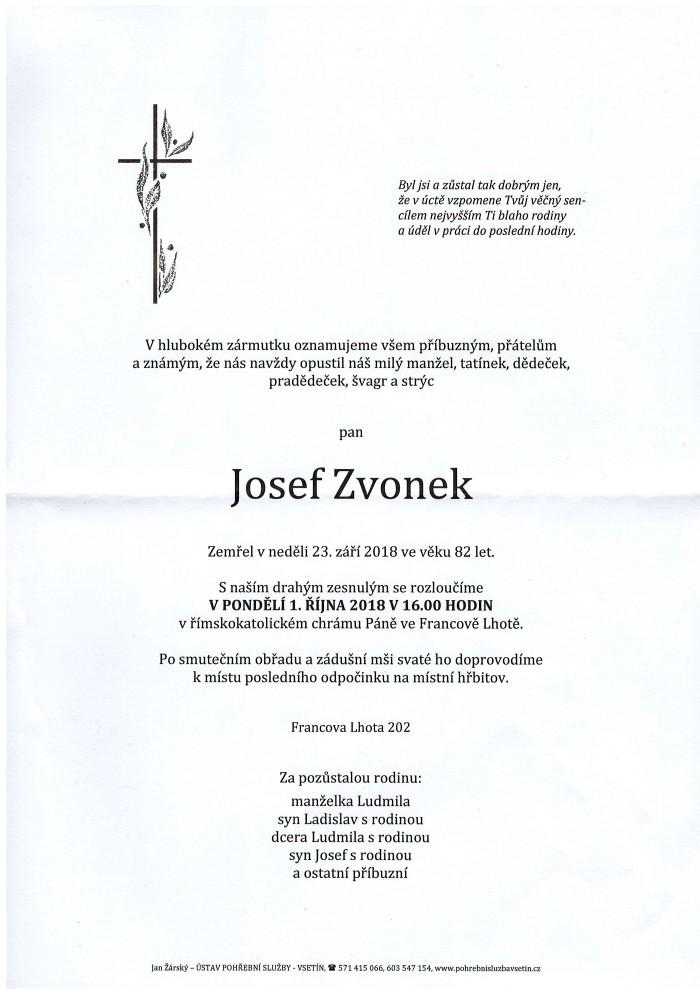 Josef Zvonek