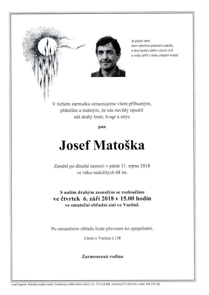 Josef Matoška