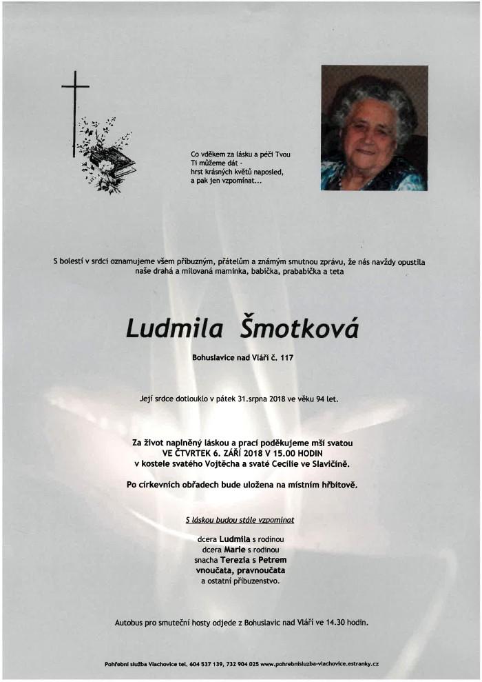 Ludmila Šmotková