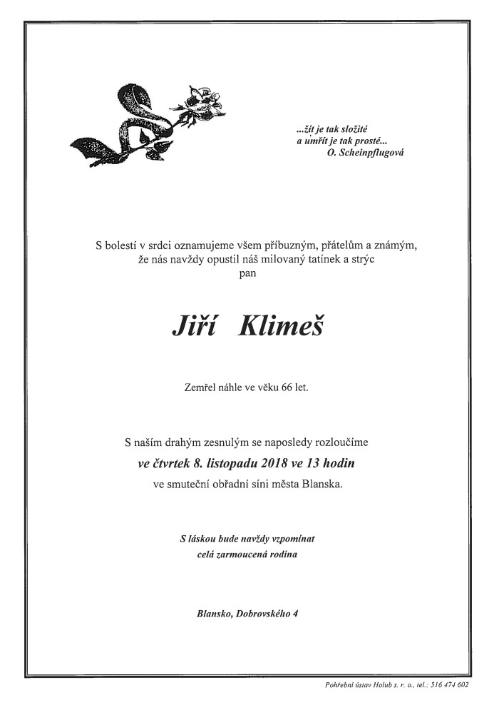 Jiří Klimeš