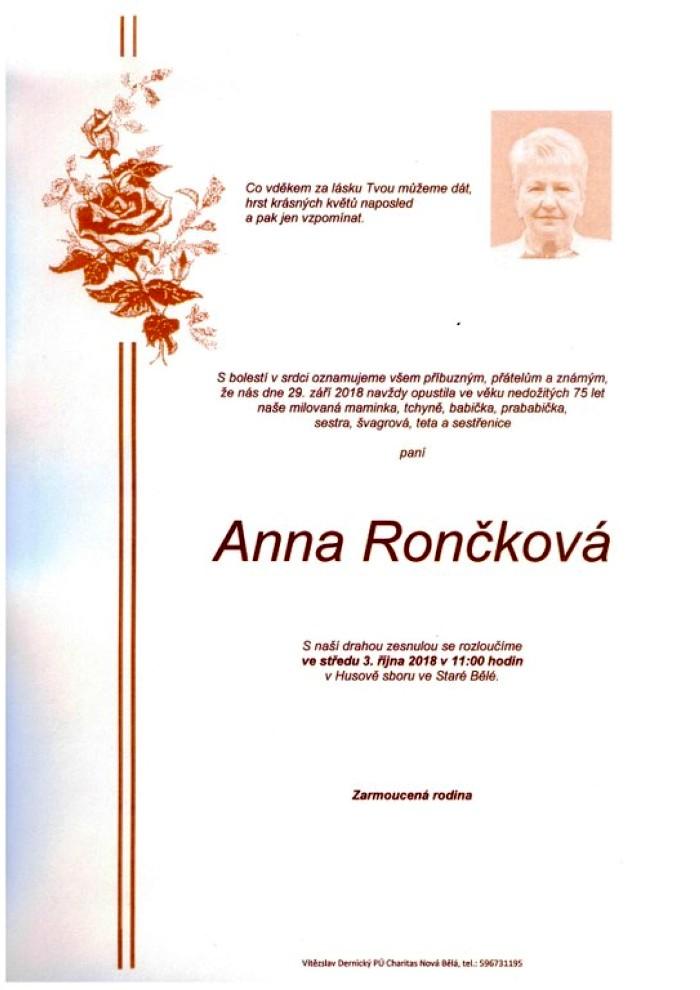 Anna Rončková