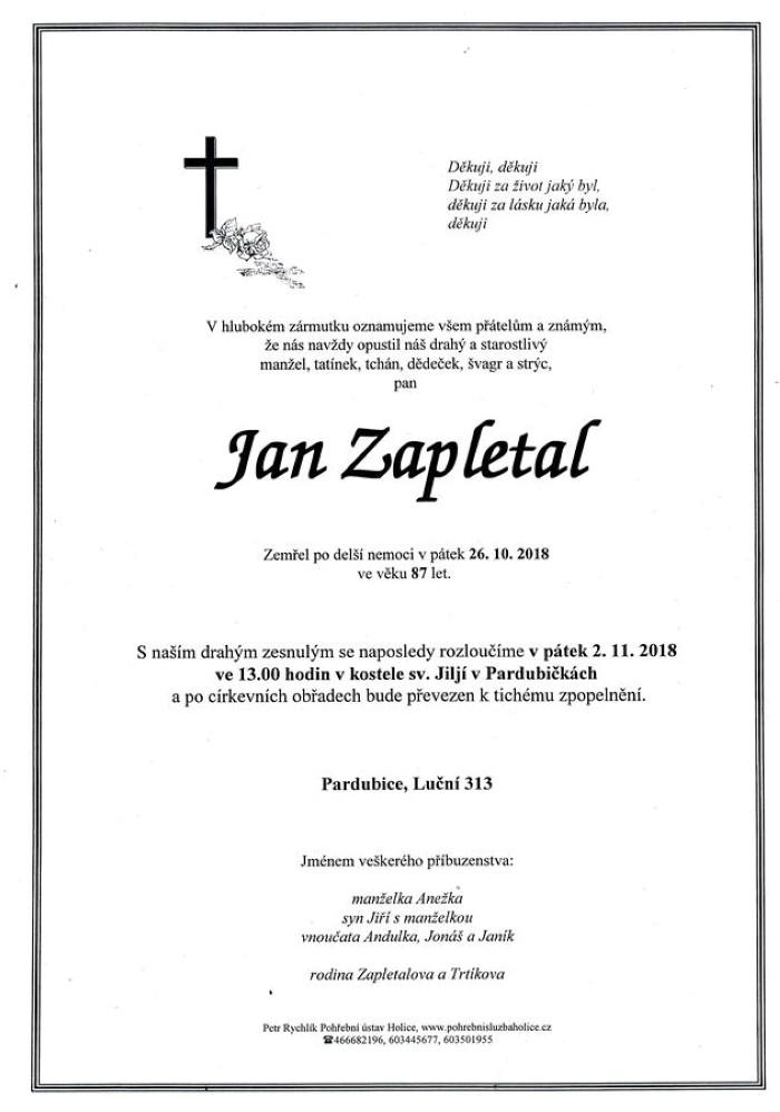 Jan Zapletal