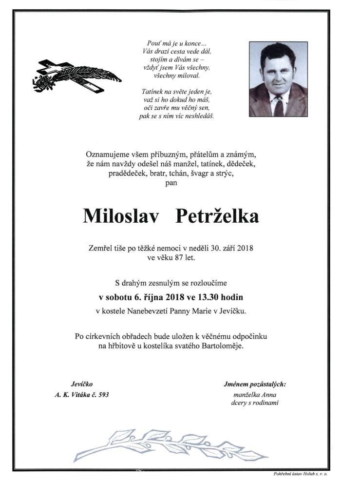 Miloslav Petrželka