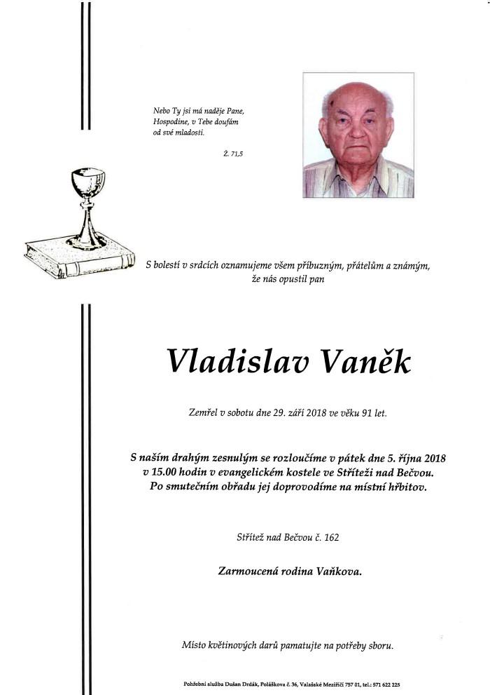 Vladislav Vaněk