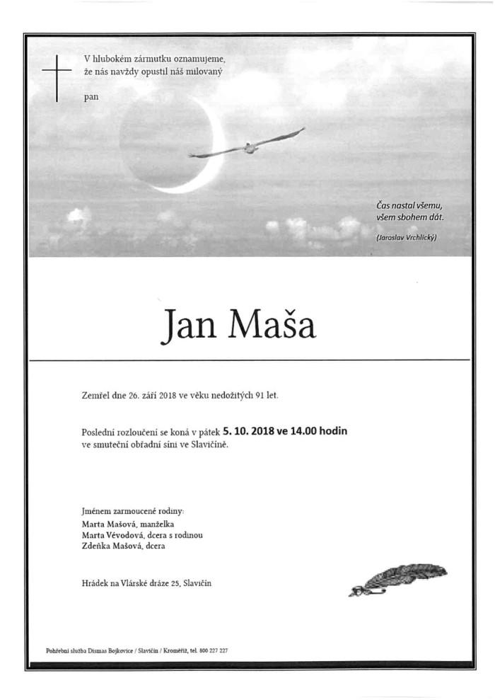 Jan Maša