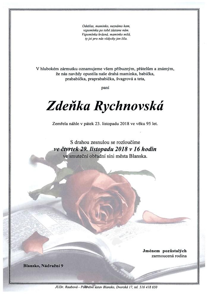 Zdeňka Rychnovská