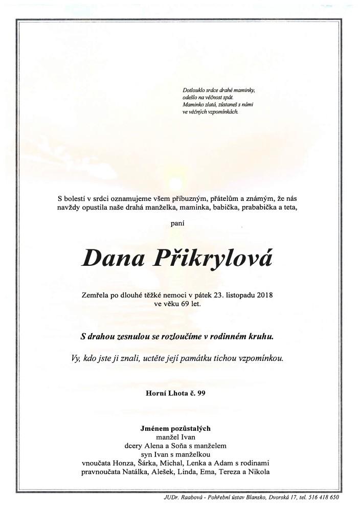 Dana Přikrylová