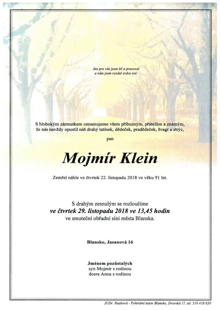 Mojmír Klein