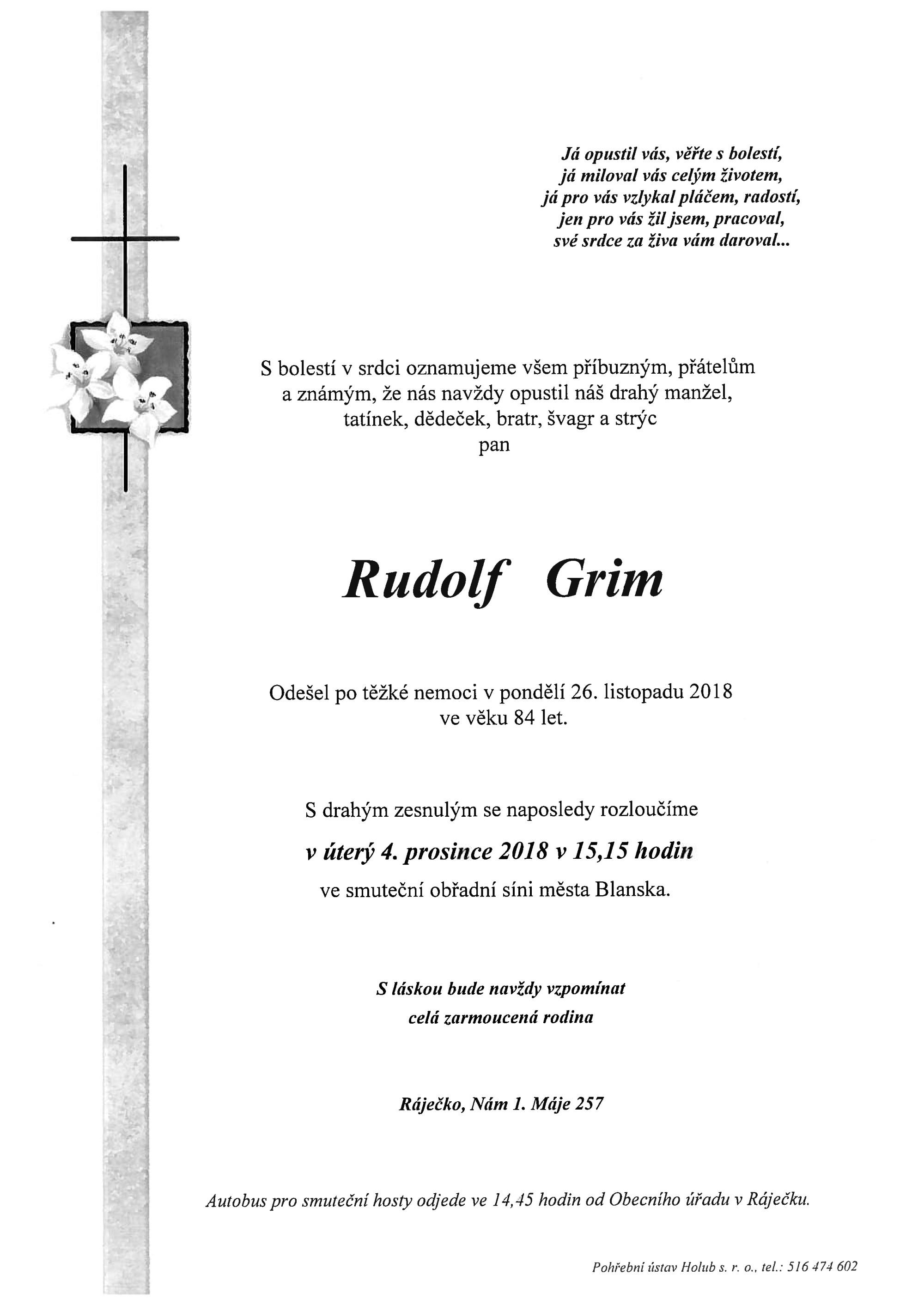 Rudolf Grim