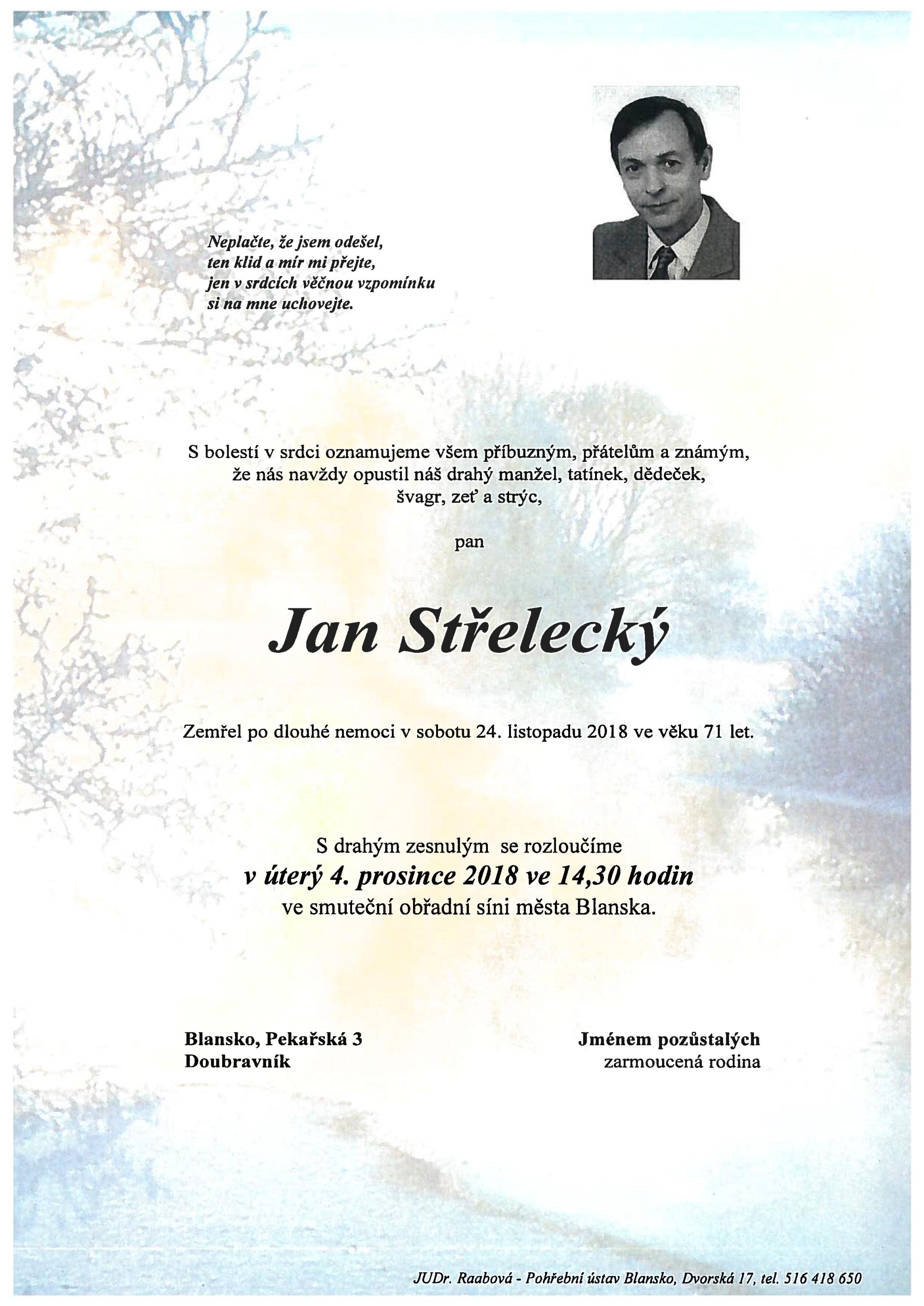 Jan Střelecký