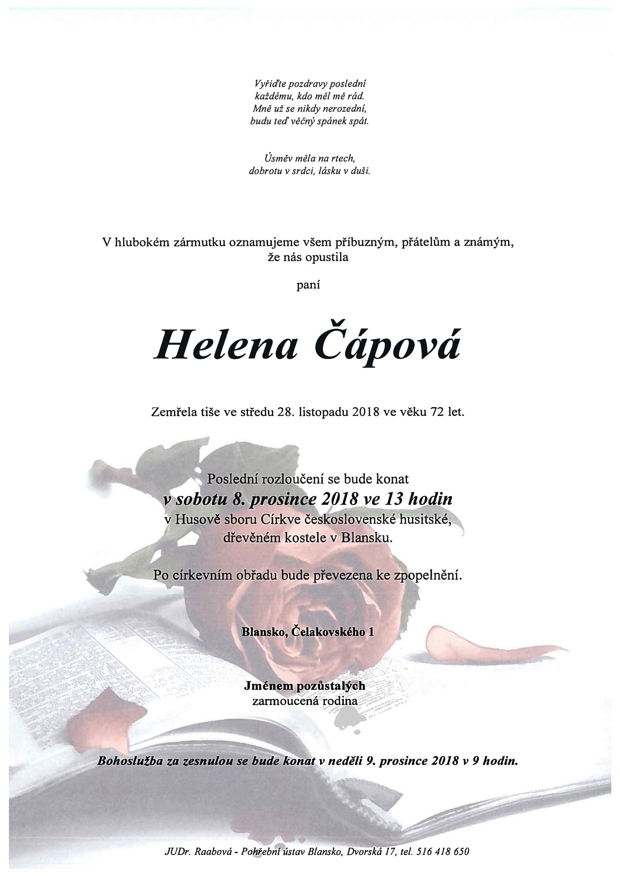 Helena Čápová