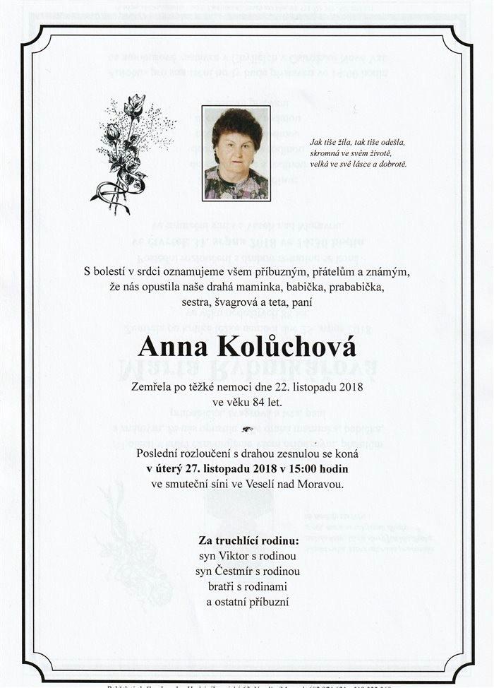 Anna Kolůchová