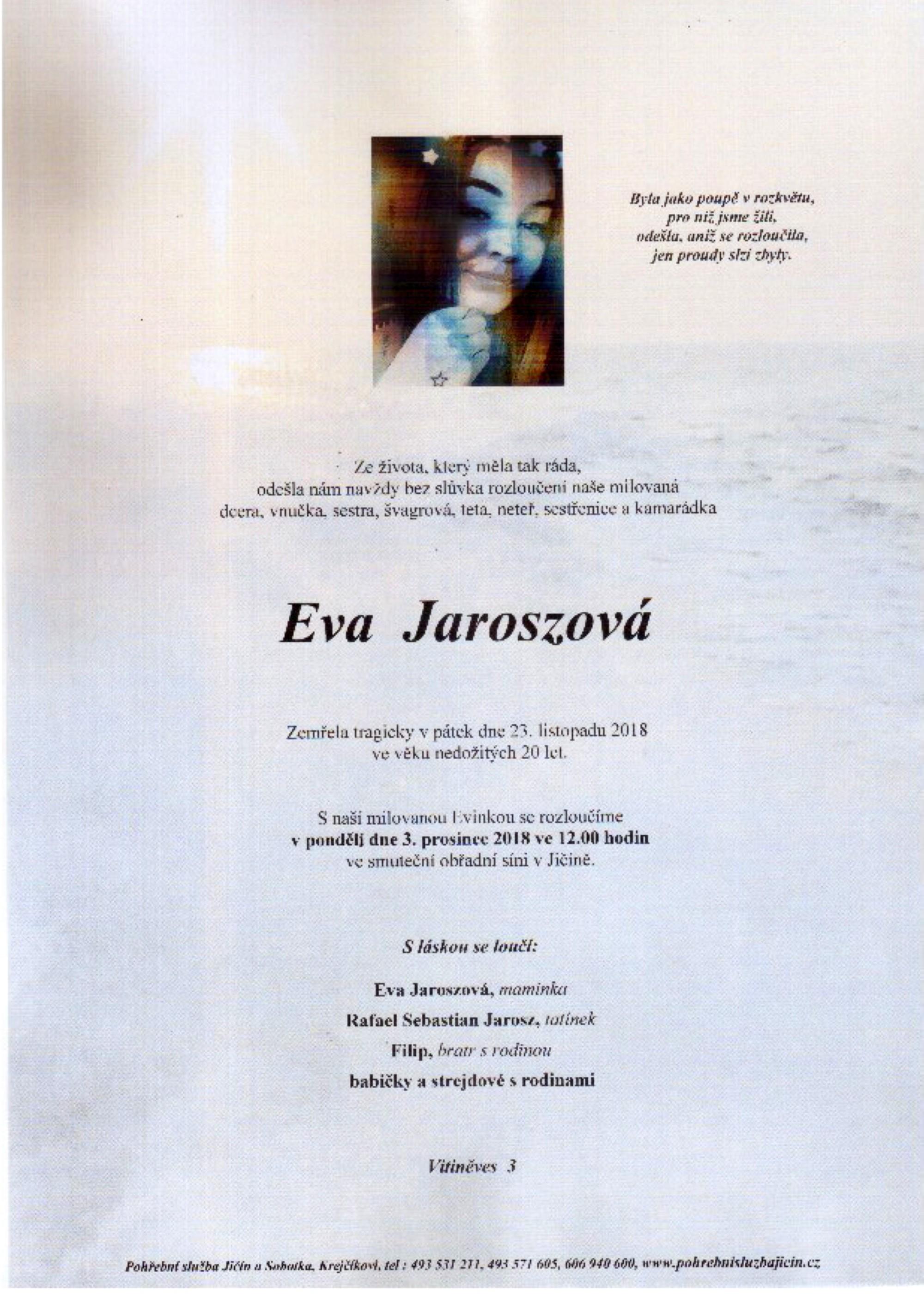 Eva Jaroszová