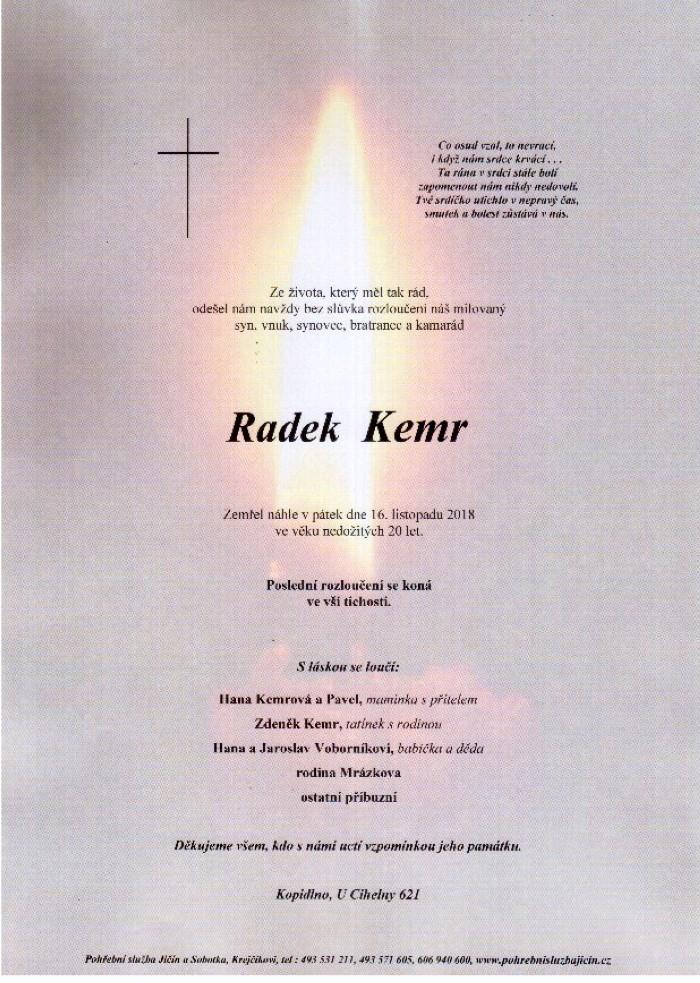 Radek Kemr