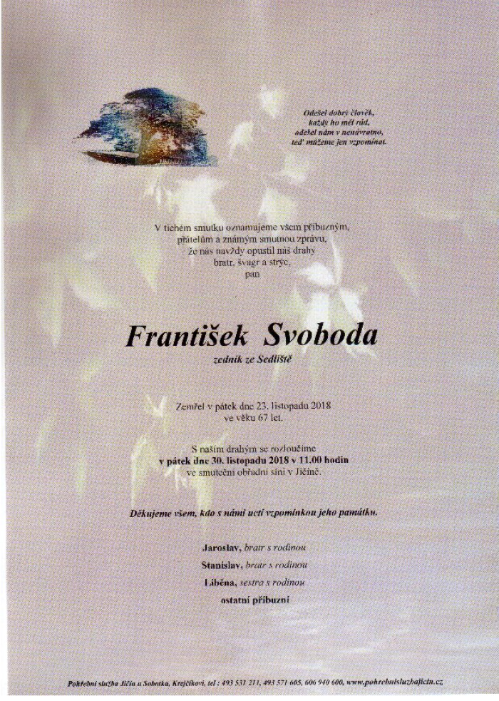František Svoboda