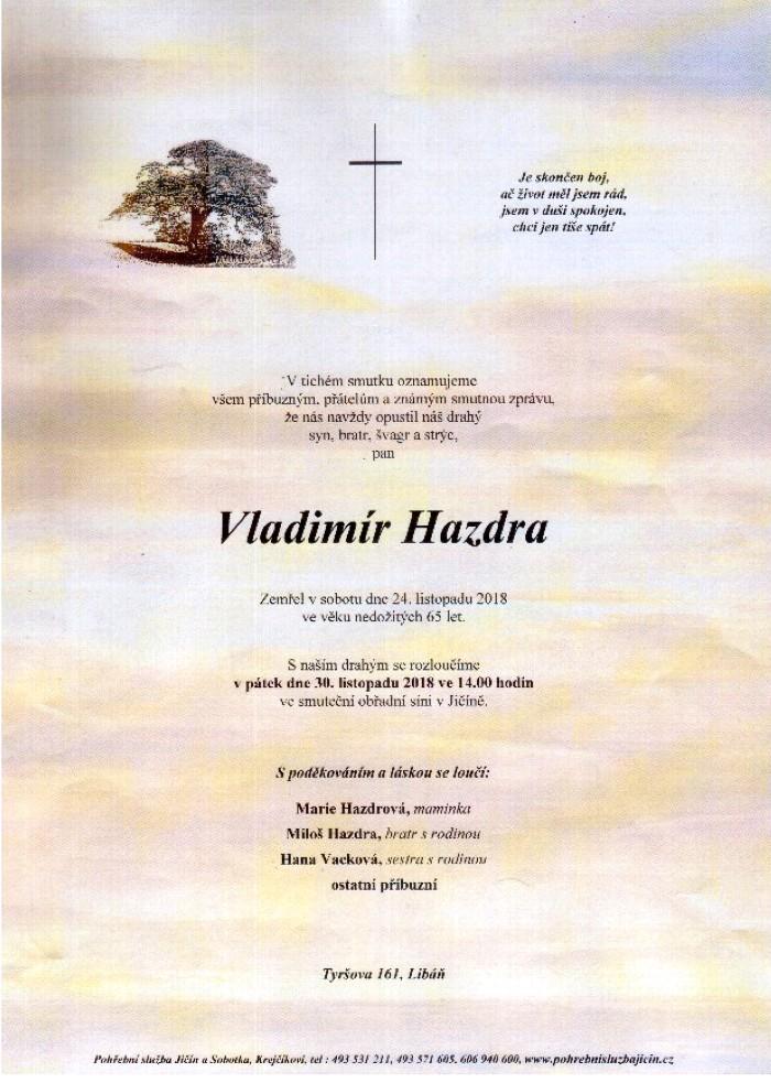 Vladimír Hazdra