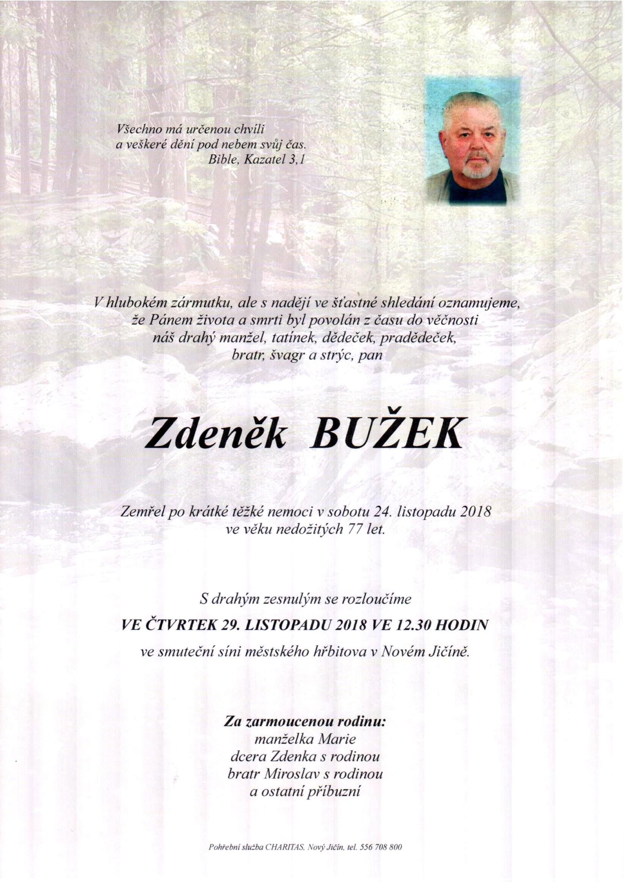 Zdeněk Bužek