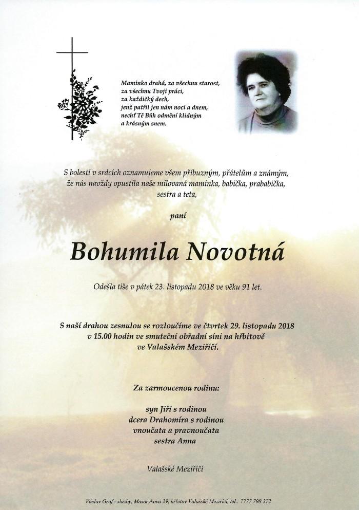 Bohumila Novotná