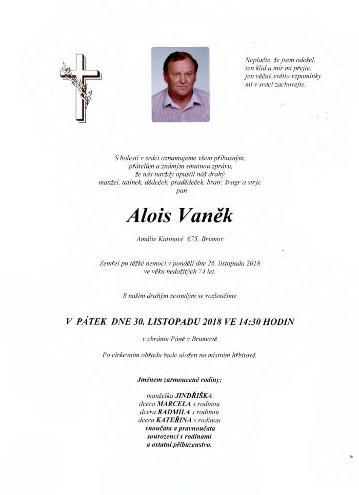 Alois Vaněk