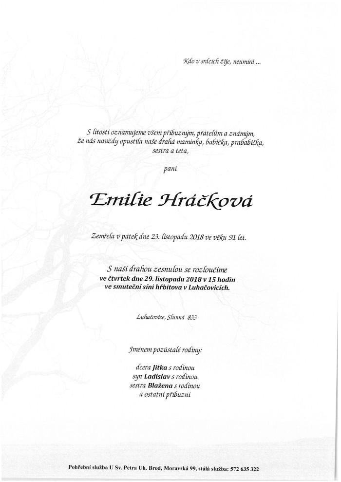 Emilie Hráčková