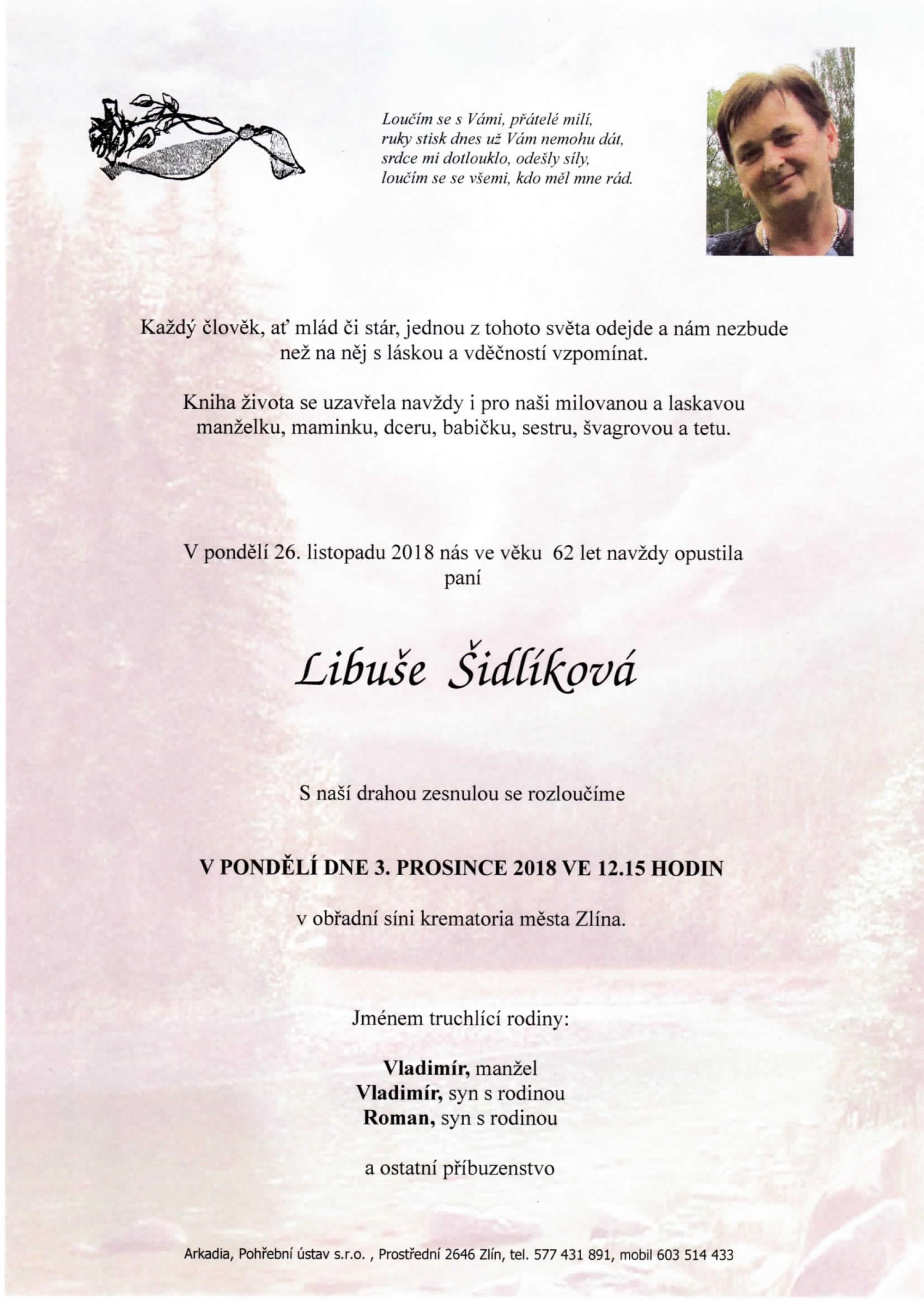 Libuše Šidlíková