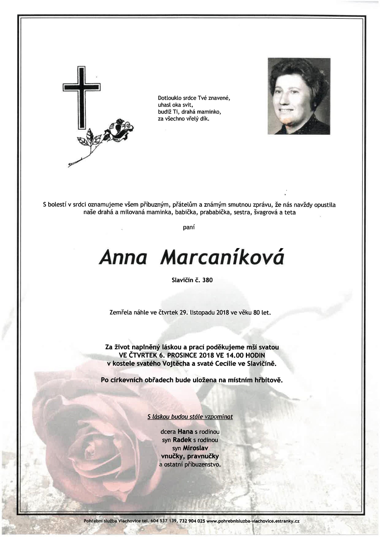 Anna Marcaníková