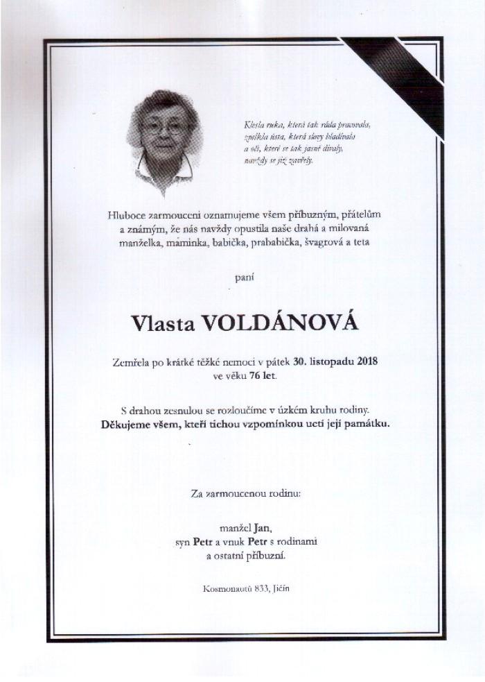 Vlasta Voldánová