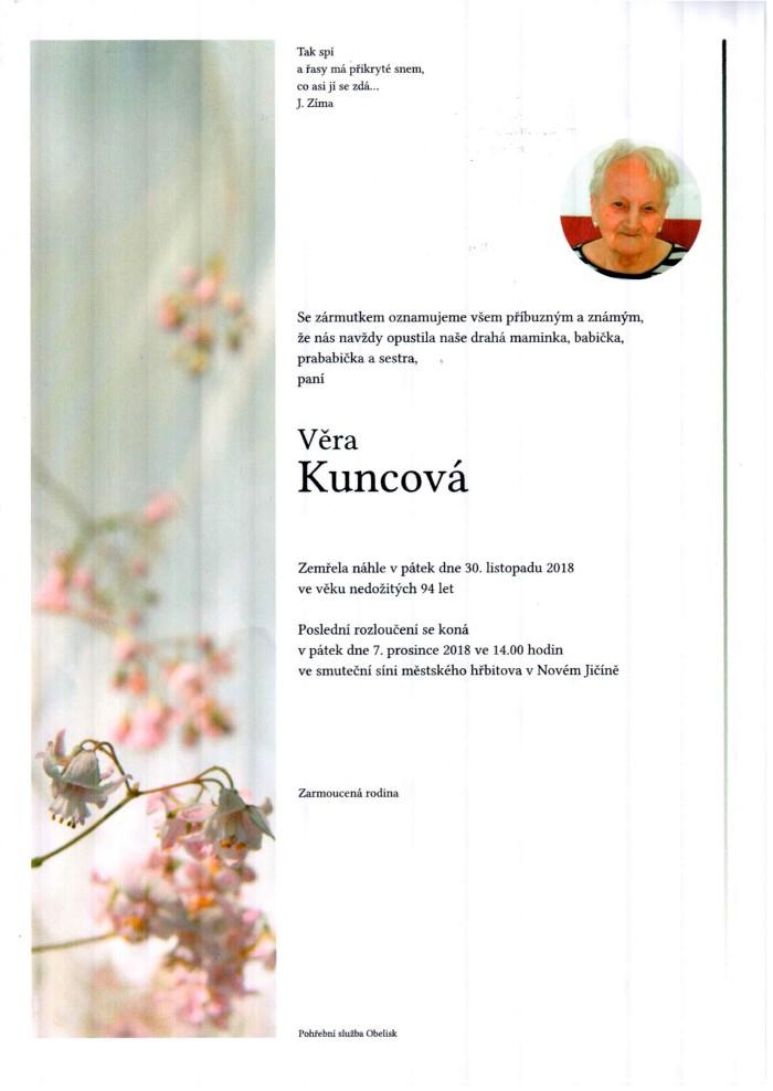 Věra Kuncová