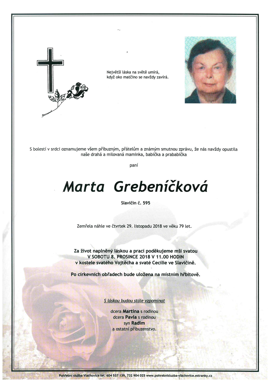 Marta Grebeníčková