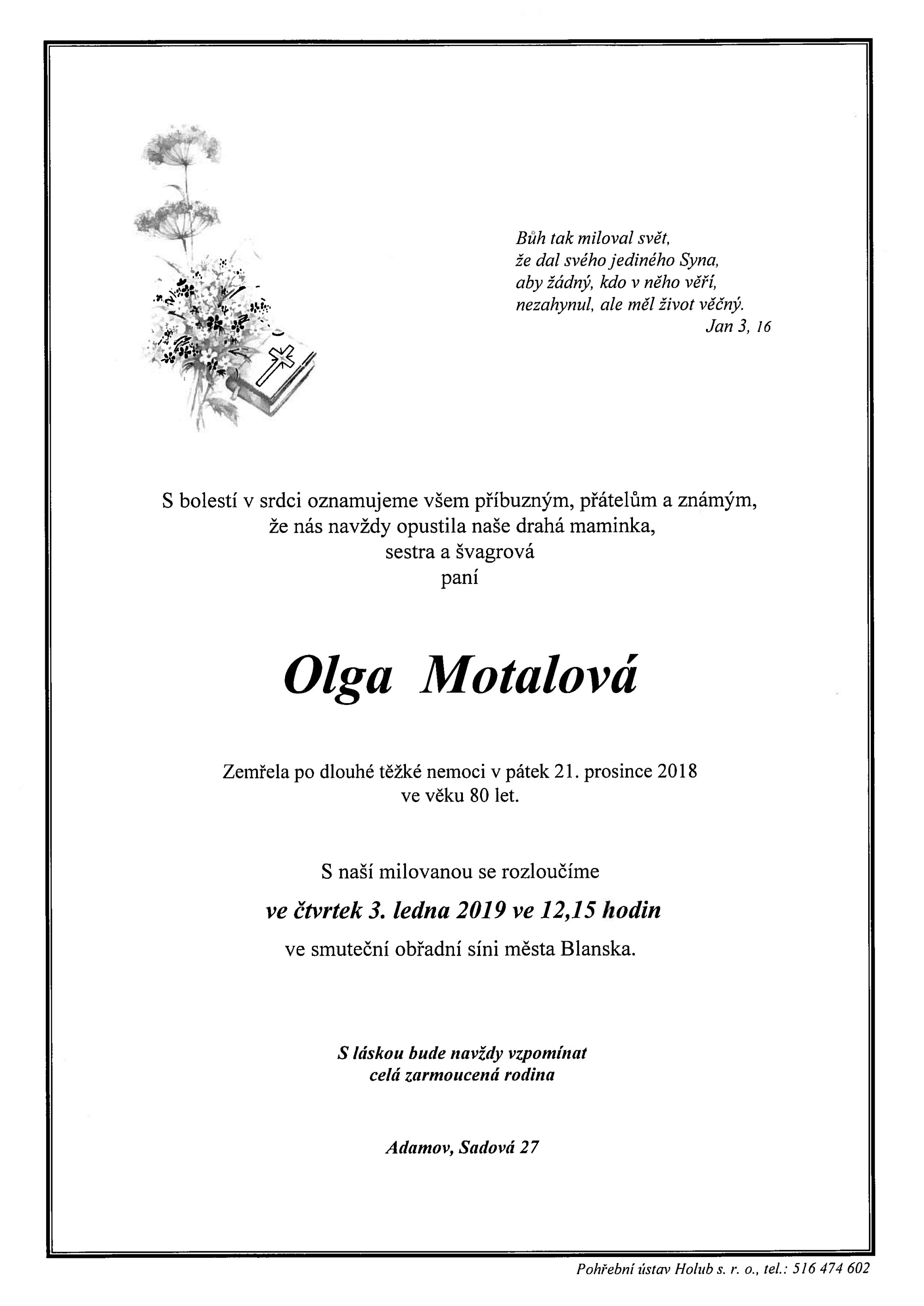 Olga Motalová