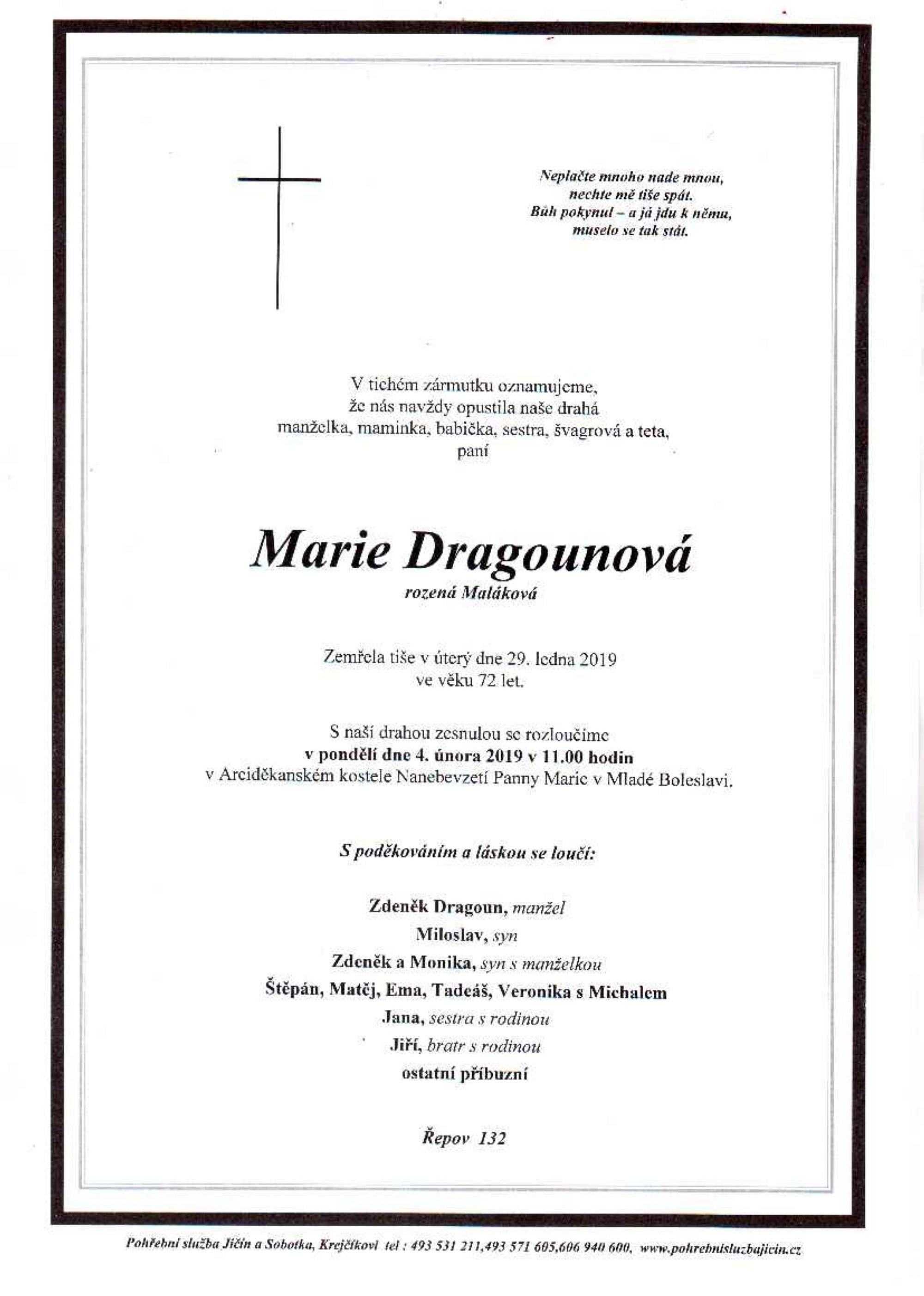 Marie Dragounová