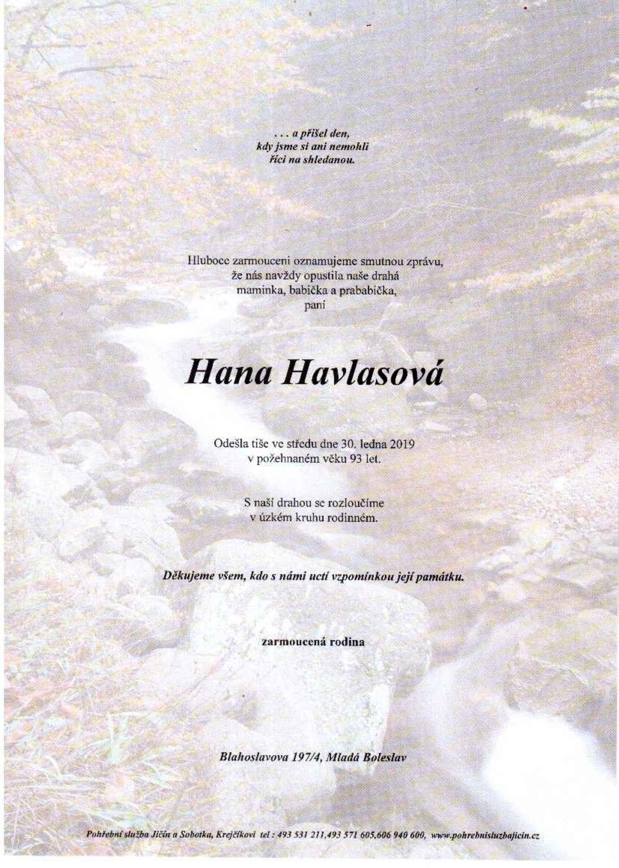 Hana Havlasová