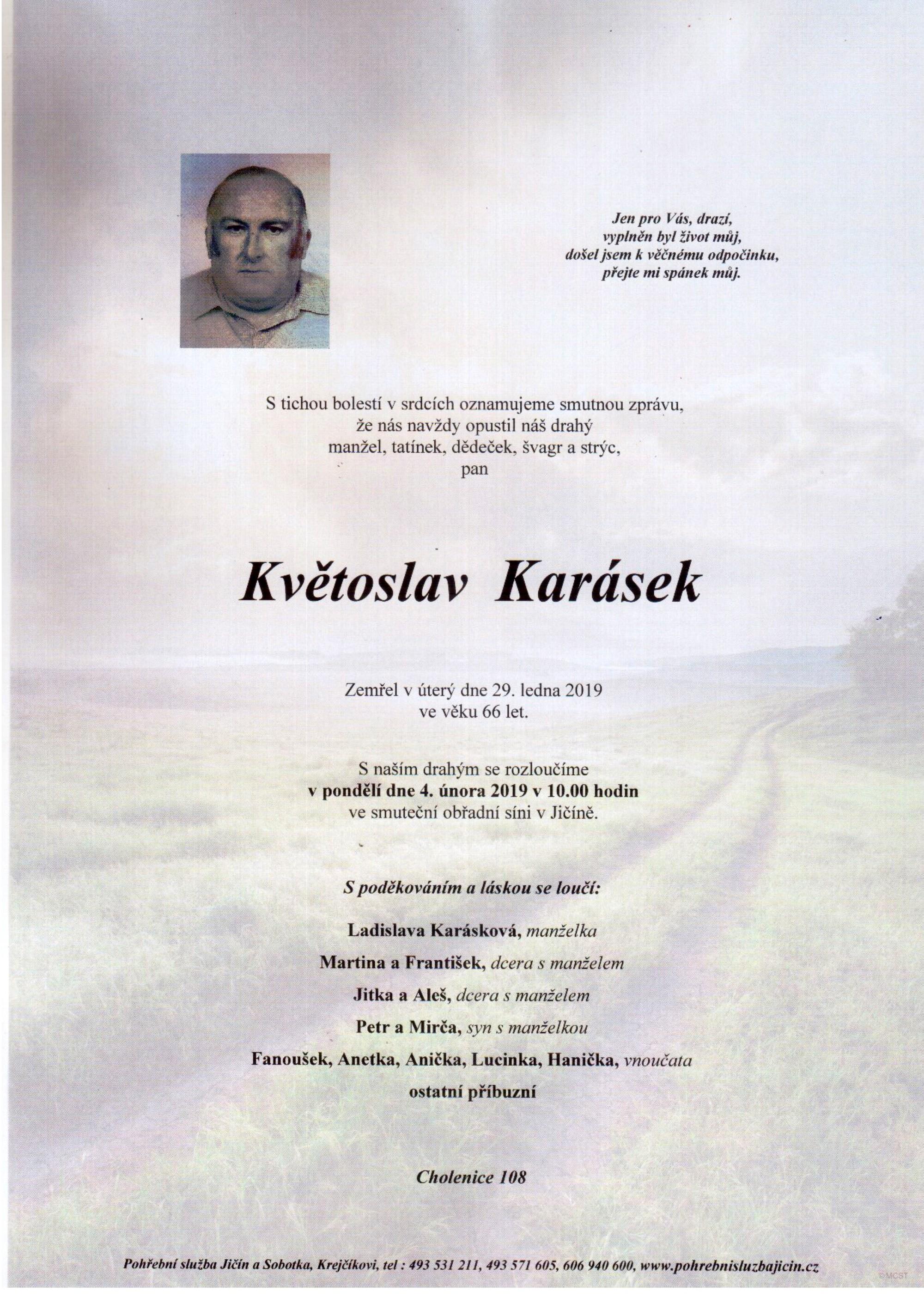 Květoslav Karásek
