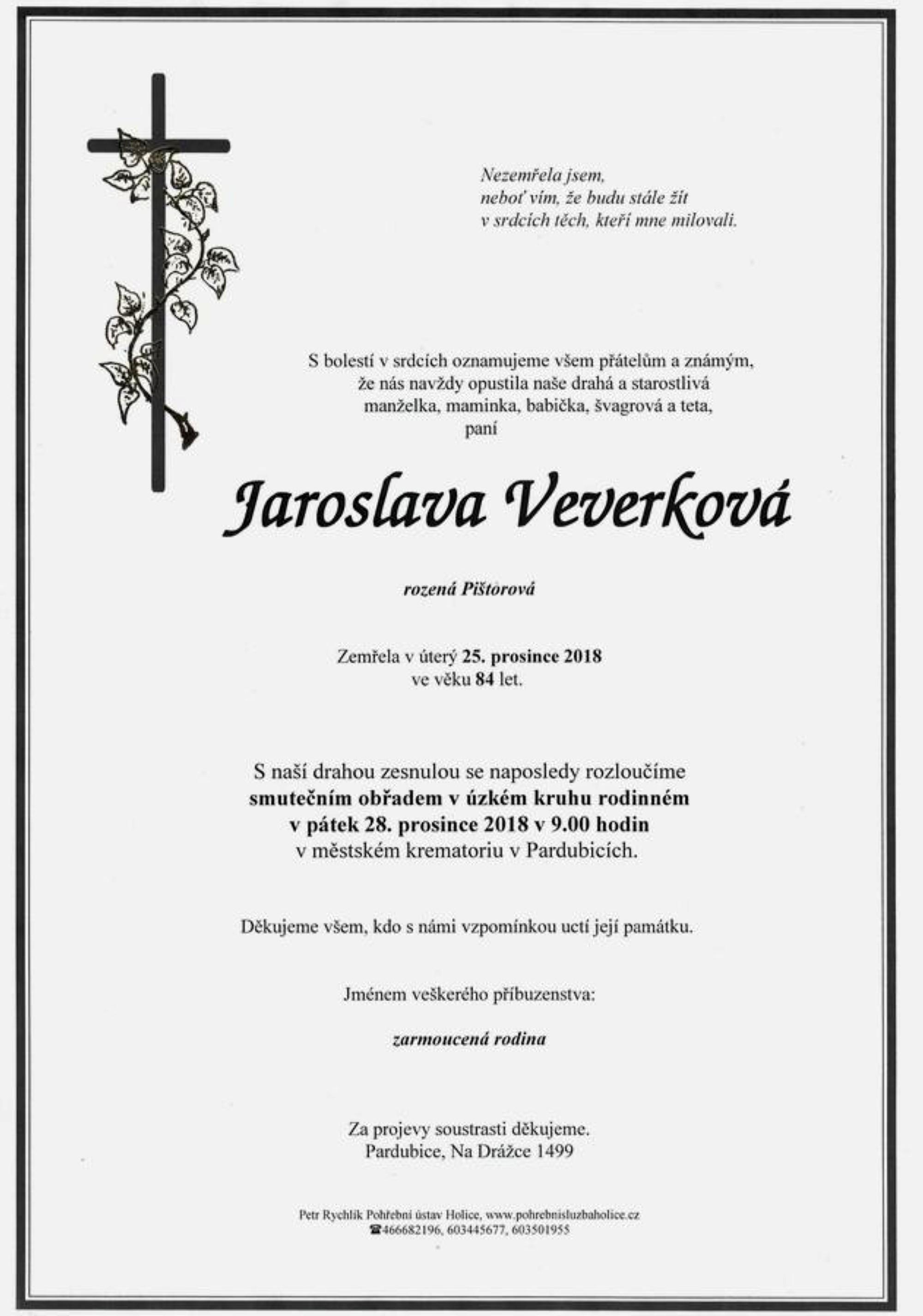 Jaroslav Veverková