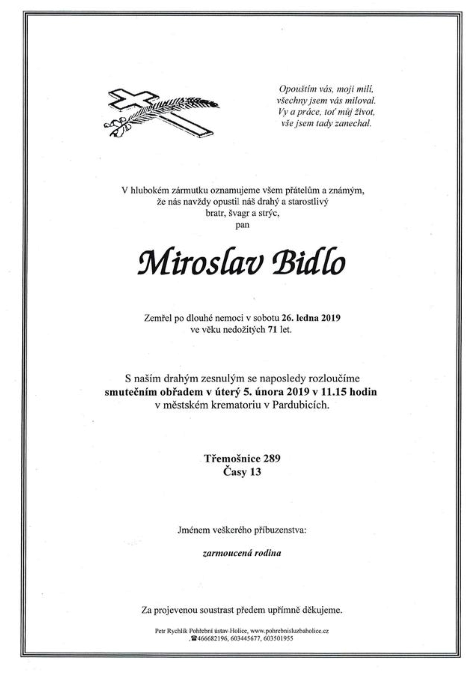 Miroslav Bidlo