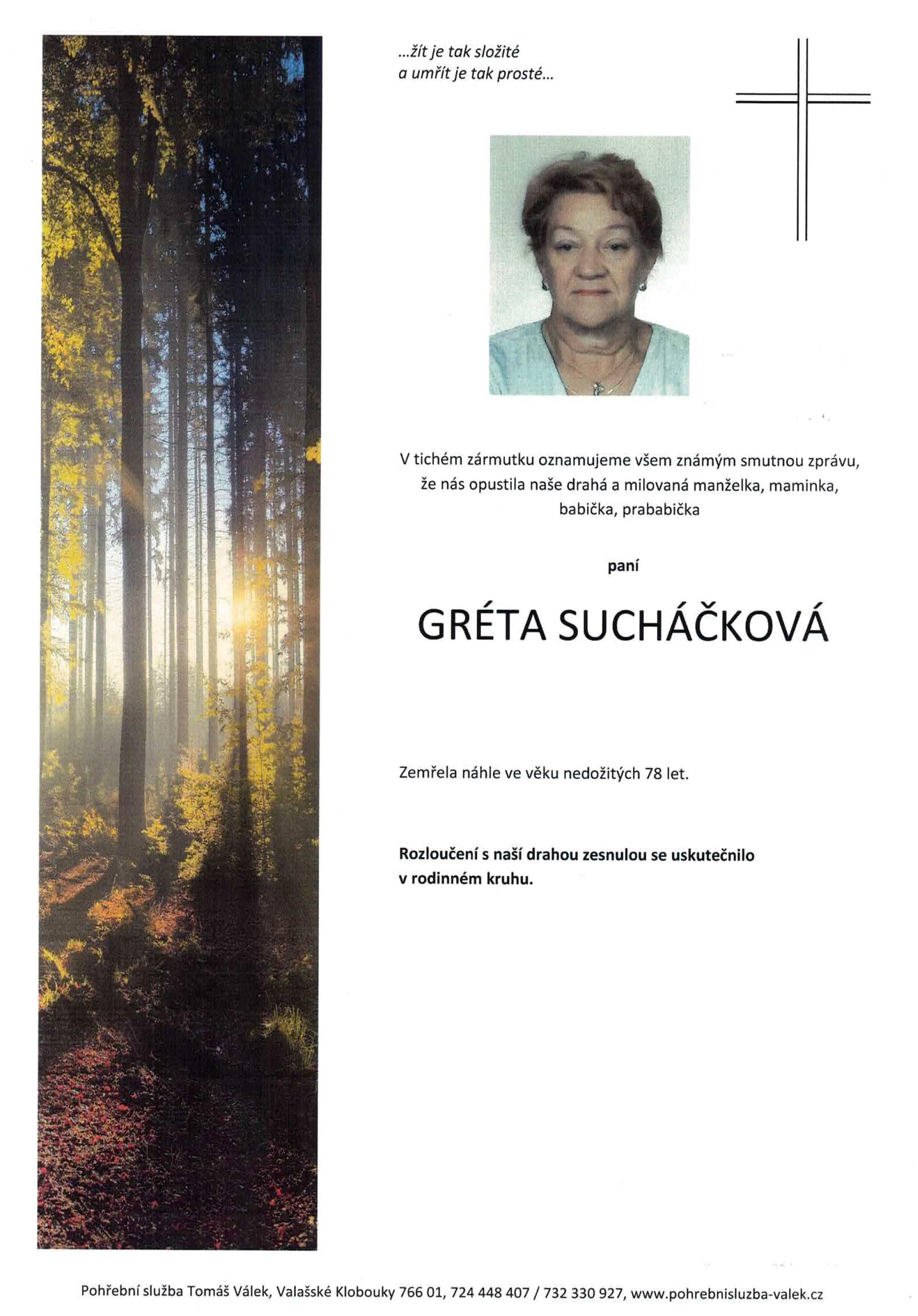 Gréta Sucháčková