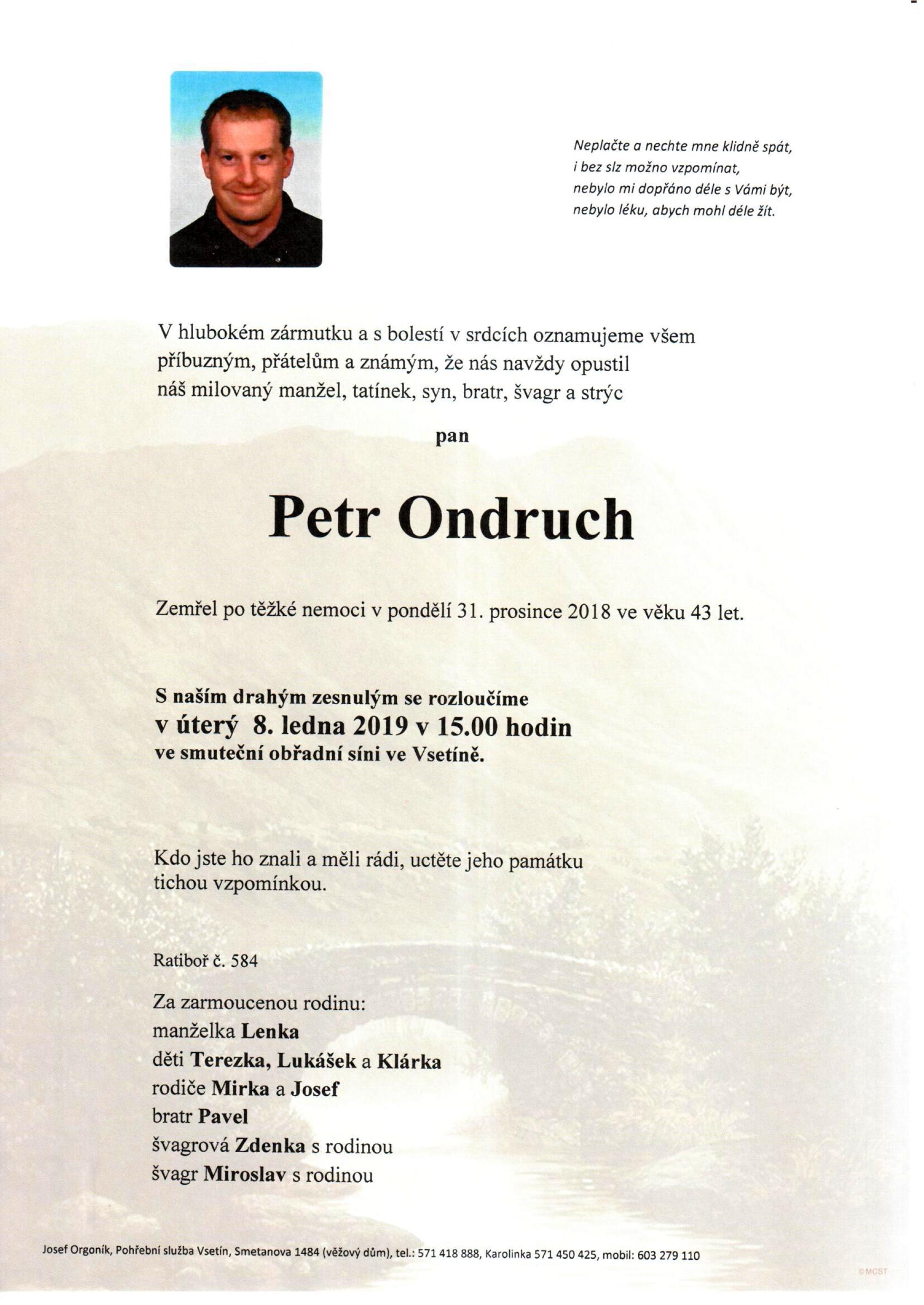 Petr Ondruch