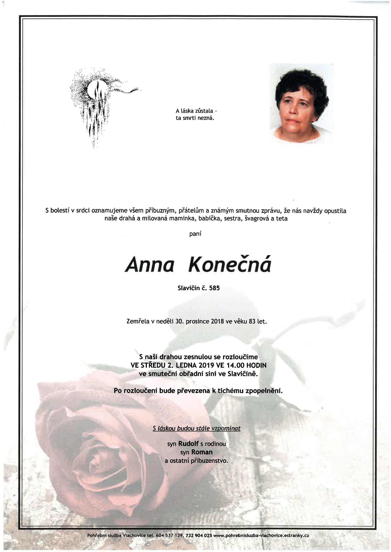 Anna Konečná