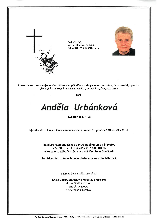 Anděla Urbánková