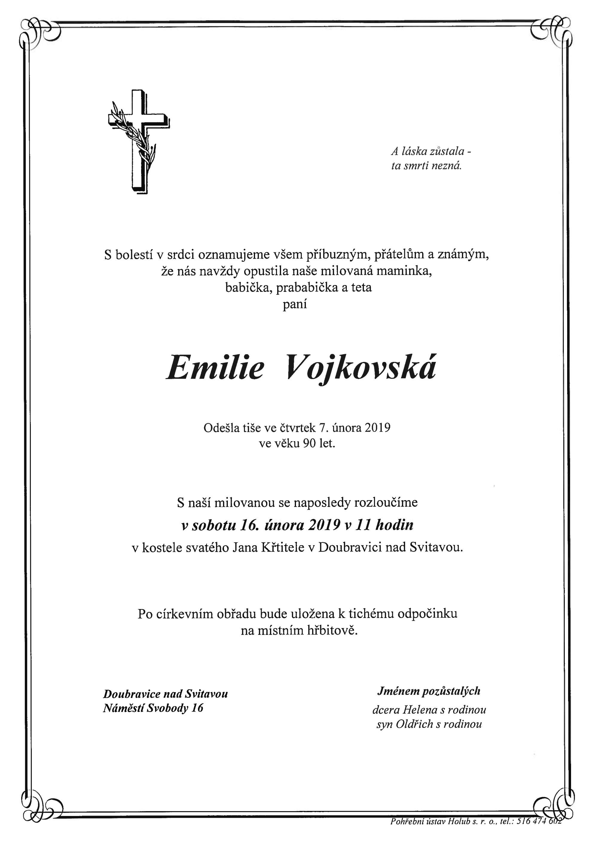 Emilie Vojkovská