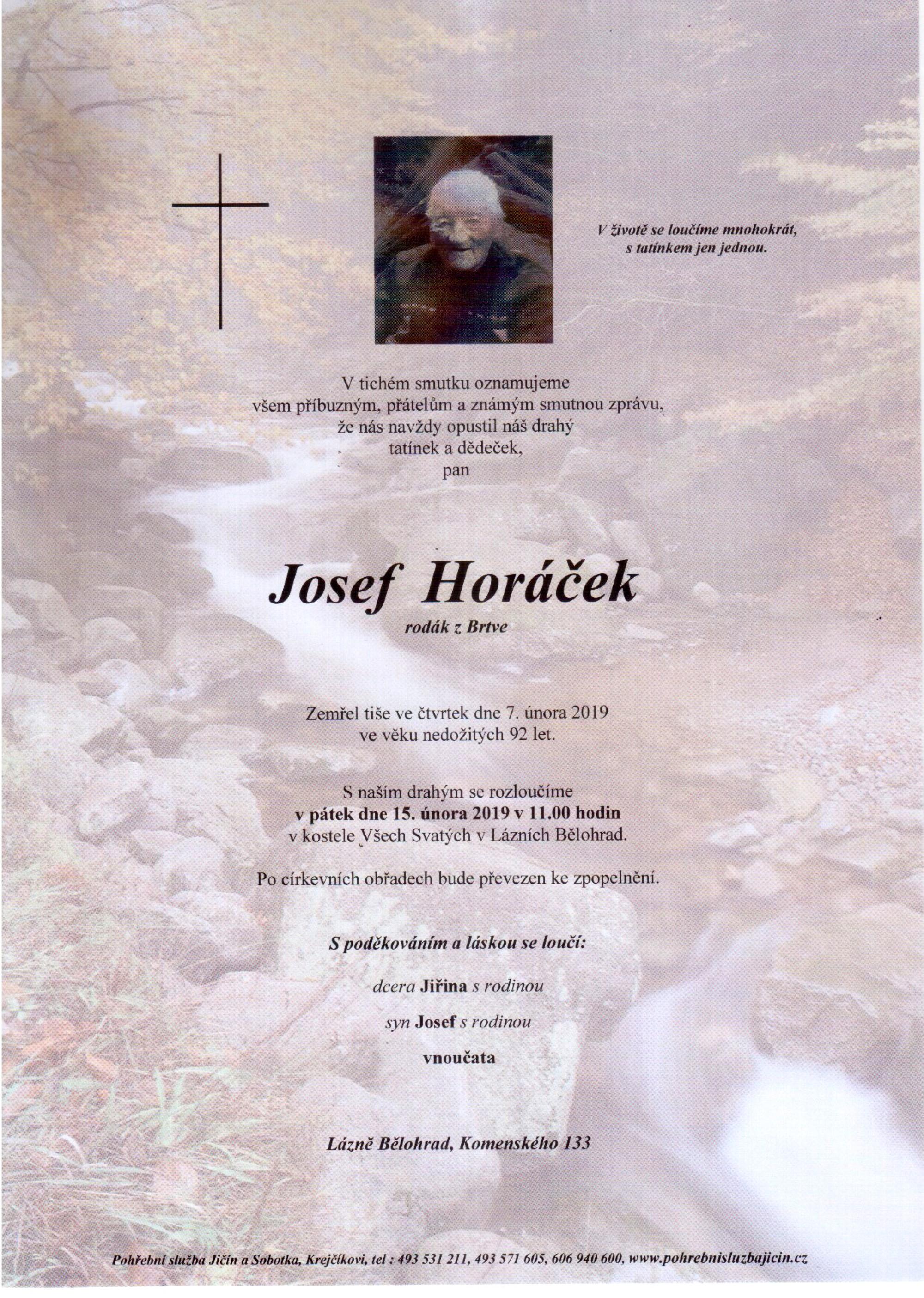 Josef Horáček