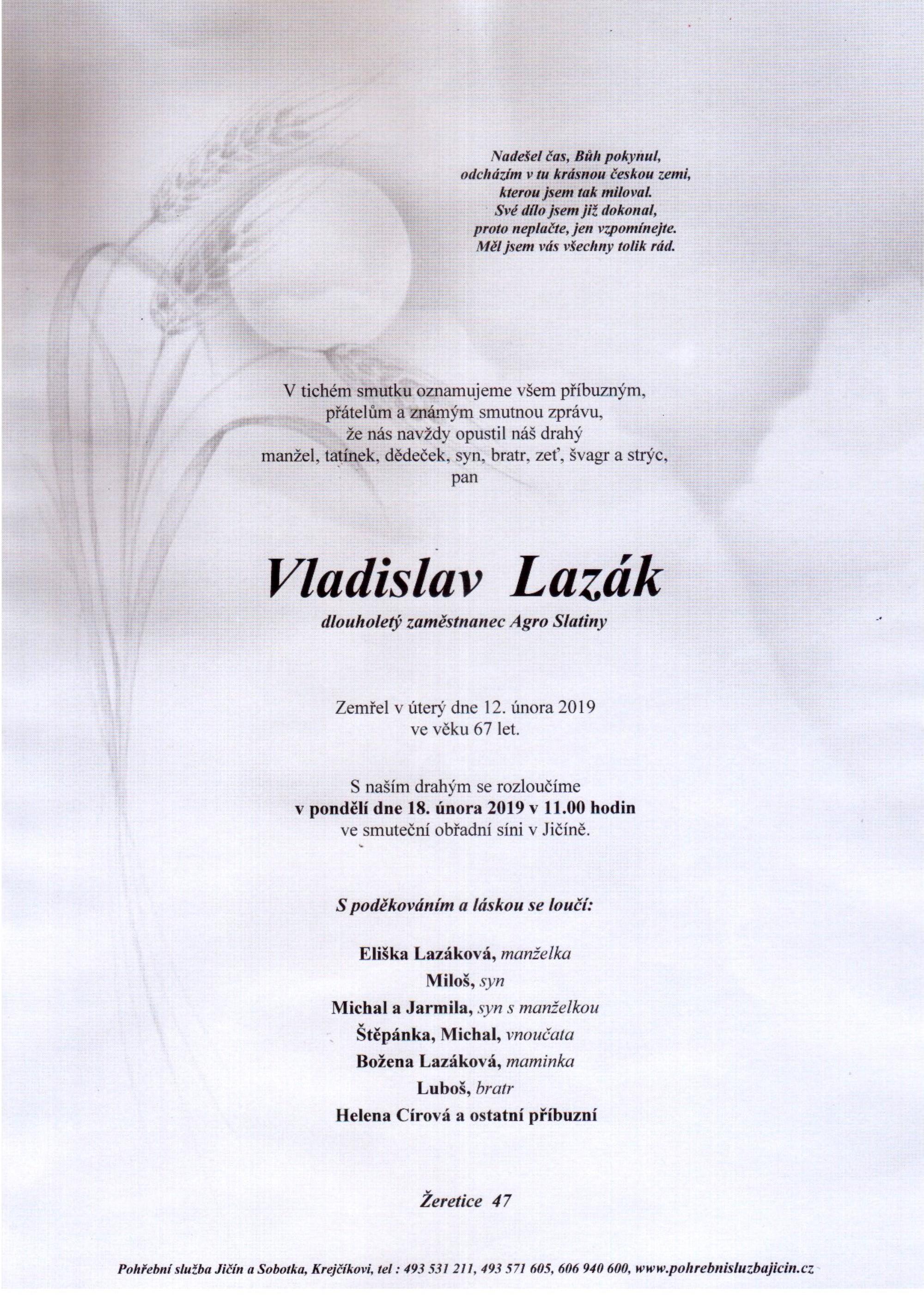 Vladislav Lazák