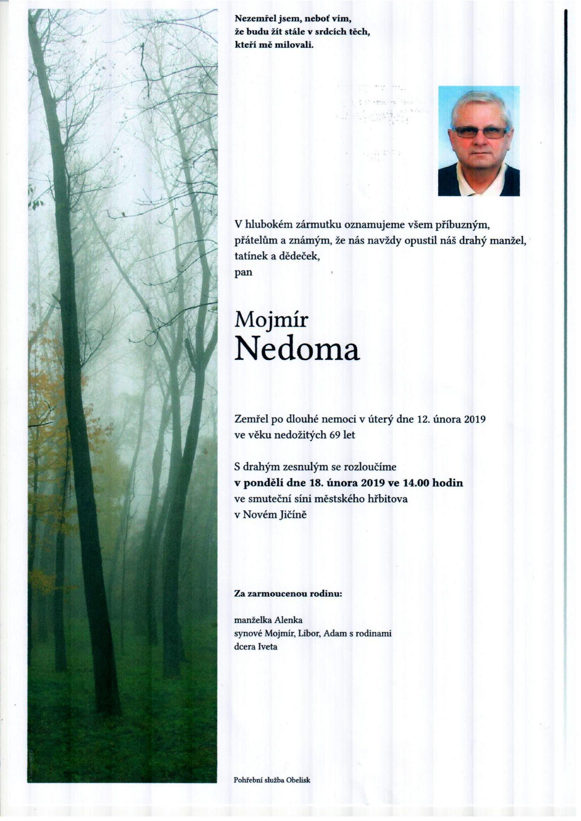 Mojmír Nedoma