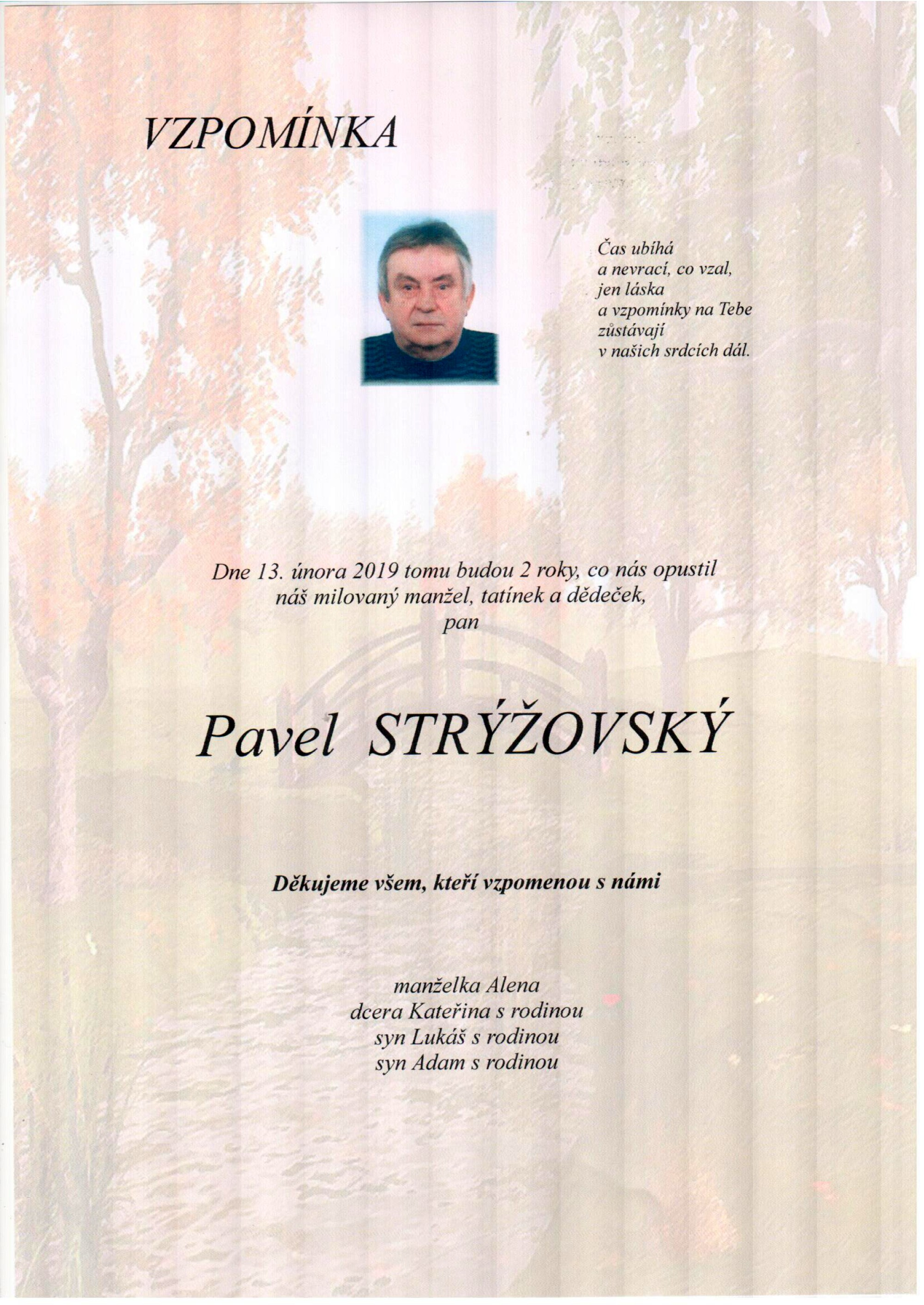 Pavel Strýžovský