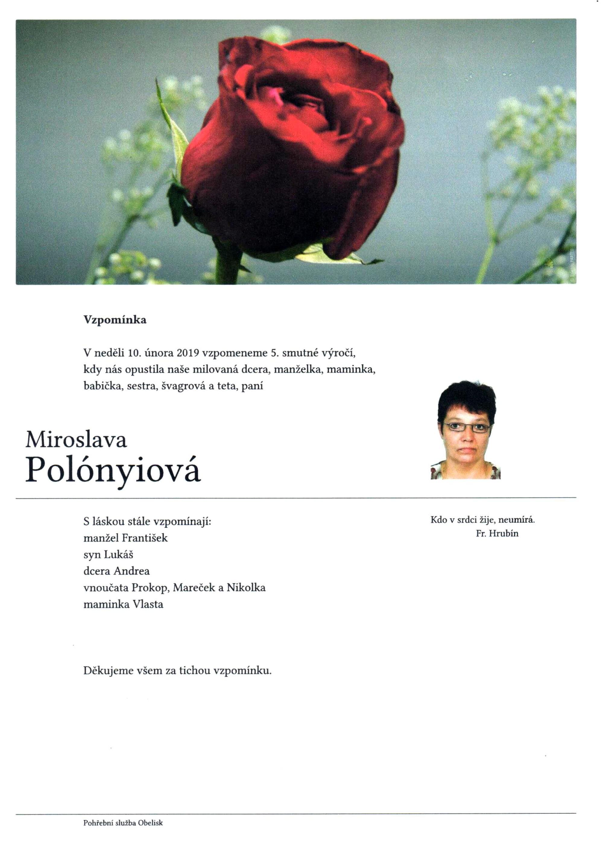 Miroslava Polónyiová